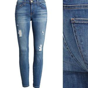 "Denim - Current/Elliott ""The Stiletto"" ankle skinny jeans"